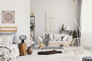 How to make your living room look boho?